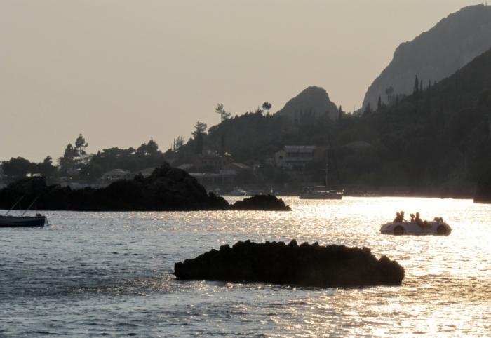 Vedere de pe plaja Triada
