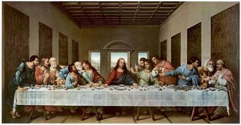 Da Vinci - The Last Supper (Sursa: jaydax.co.uk)