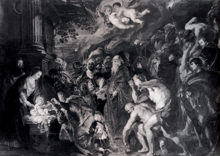 Rubens - The adoration of the magi (wikipaintings.org)