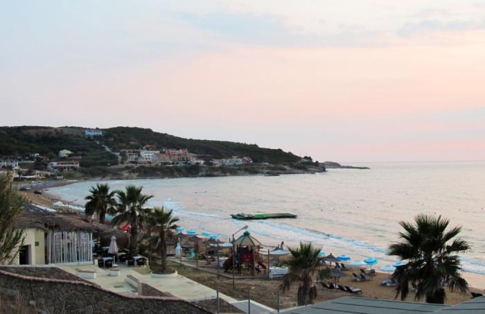 Plaja din Agios Stephanos